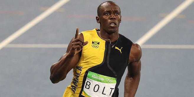 Usain Bolt tarihe geçti!