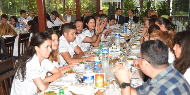 Bursa'da dostluk buluşması