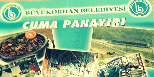 Büyükorhan'da panayır ve Görecik Festivali başlıyor