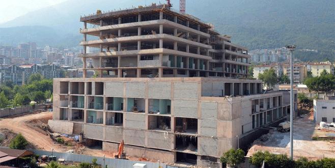 Bursa'nın yeni hastanesi 5 milyon kişiye hizmet vercek
