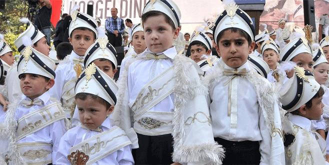 Bursa'da 1500 çocuk erkekliğe ilk adımı atacak