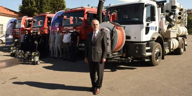 Bursa'dan Makedonya'ya büyük destek