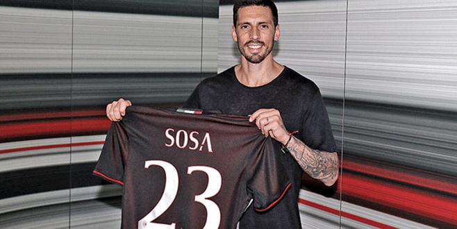 Milan, Sosa transferini resmen açıkladı