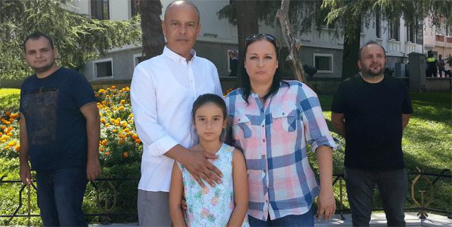 Dehşet anlarına şahitlik eden 10 yaşındaki kız adalet istedi