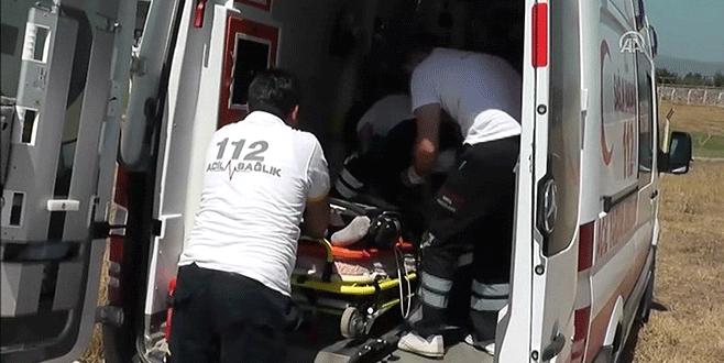 Bursa'da motosikletler çarpıştı: 2 yaralı