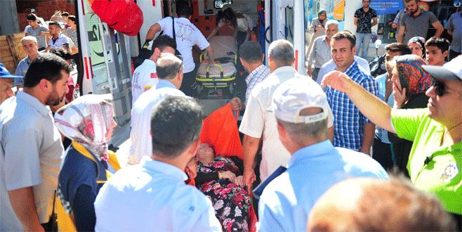 Bursa'da bunalıma giren kadın 7. kattan atlamak istedi