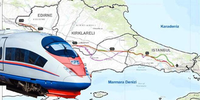 Türkiye'den Avrupa'ya 'Hızlı Tren'