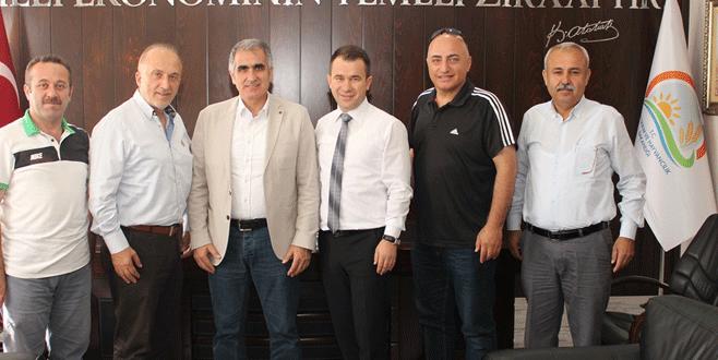 AK Parti Nilüfer'den Ceylan'a ziyaret