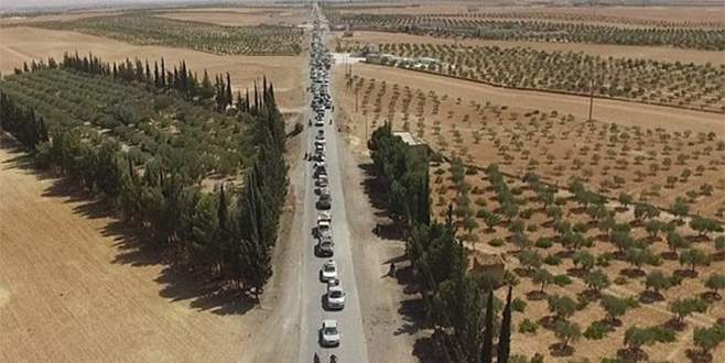 IŞİD'li teröristler Türkiye'ye doğru kaçıyor