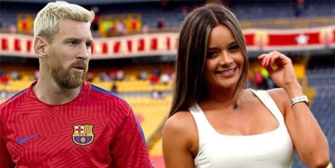 Spor spikerini Messi gafı meşhur etti