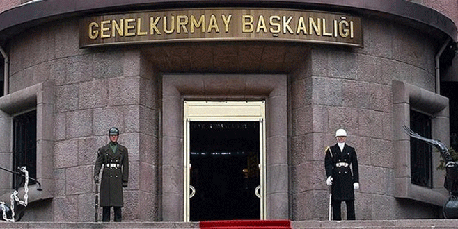TSK'dan sınırdaki birliklerlerle ilgili açıklama