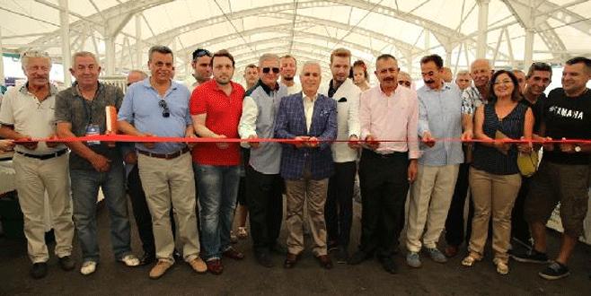 Nilüfer'de antika pazarı açıldı