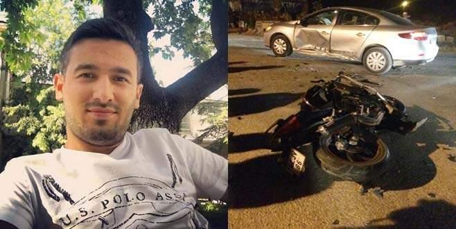Bursa'da motosikletli gencin ölümüne neden olan sürücü tutuklandı