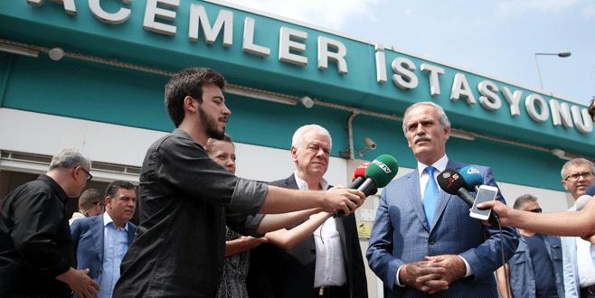 Metro istasyonuna Bursaspor adı verildi