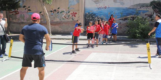 Yavuz Selim'de tenis coşkusu
