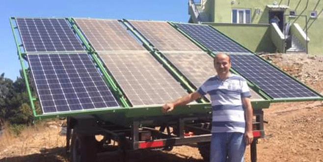 Yangın kulelerinin enerjisini güneş panelleri sağlayacak