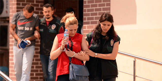 Bursa'da eş zamanlı uyuşturucu operasyonları