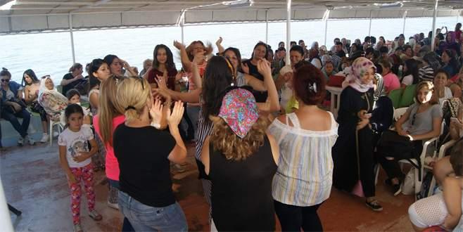 Bursa'da ücretsiz deniz sefası