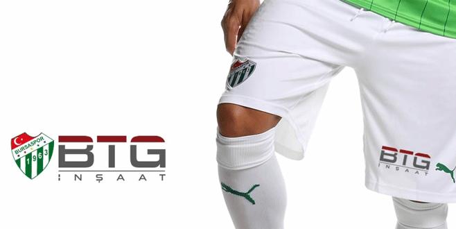 Şort sponsoru BTG inşaat