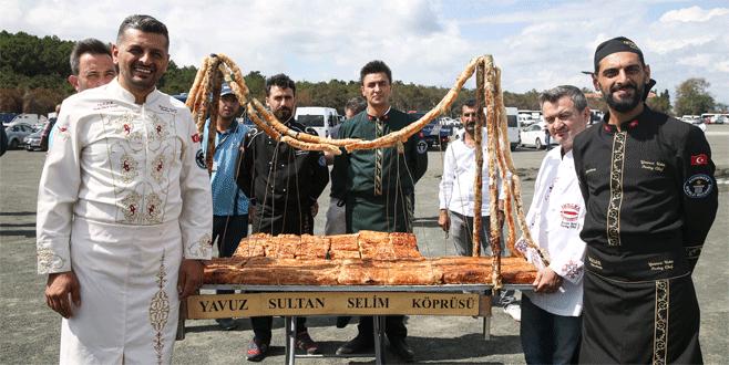 Yavuz Sultan Selim Köprüsü'nün 'böreği' de hazır