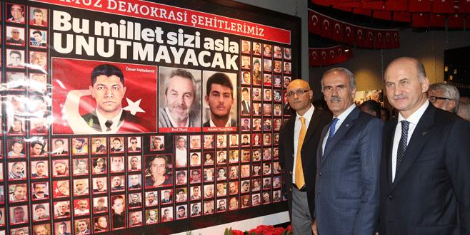 Bursa'da fotoğraflarla ´milli irade´ destanı
