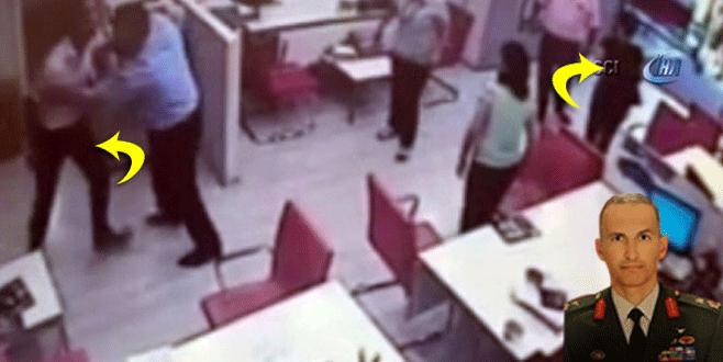 Noter katibi, darbecinin eşini bıçakla kovaladı