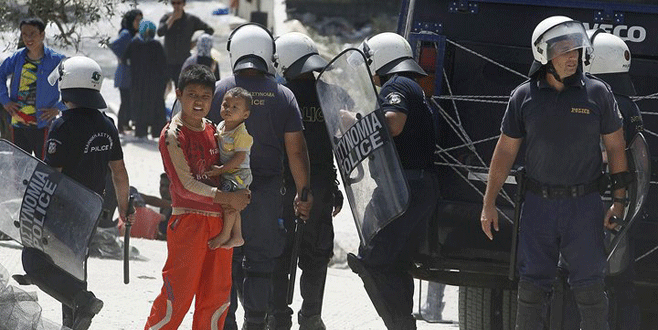Yunan adalarında IŞİD 'harekatı'