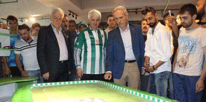 Bursastore, Timsah Arena'da açıldı
