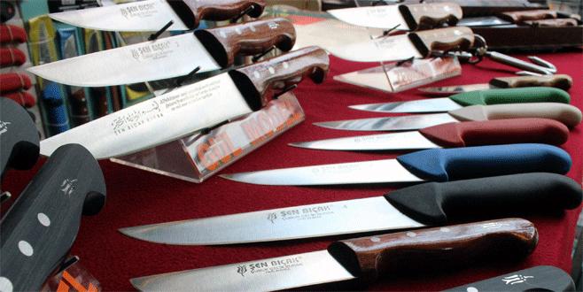Kurban bayramı öncesi Bursa bıçağına büyük ilgi