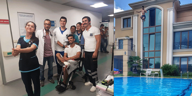 Kenan Sofuoğlu'nu hastanelik eden atlayış