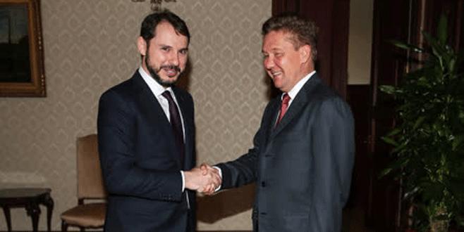 Boğaz'da Gazprom zirvesi