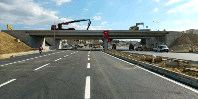 Mudanya Köprülü Kavşağı'nın bir bölümü açılıyor