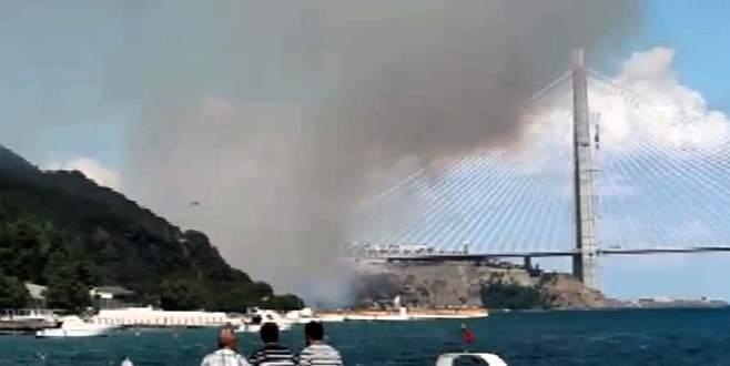 3. Köprü yakınlarında orman yangını