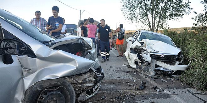 Bursa'da tatil dönüşü feci kaza