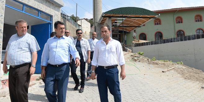 Güneybayır Camii çevresi yenileniyor