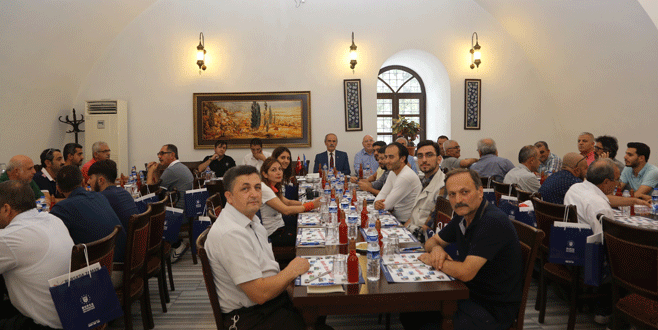 Konyalı gazetecilere Bursa brifingi