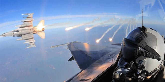 TSK IŞİD hedeflerini imha etti