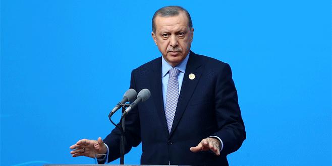 Erdoğan: 'Batı ülkelerinin ırkçı tavrı utanç verici'