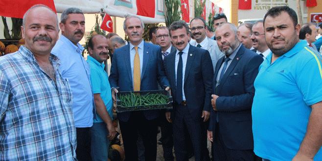 Yenişehir'de biber festivali