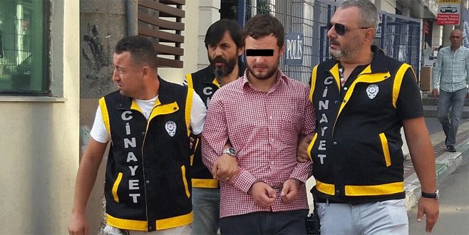 Üvey baba katili Uludağ eteklerinde yakalandı