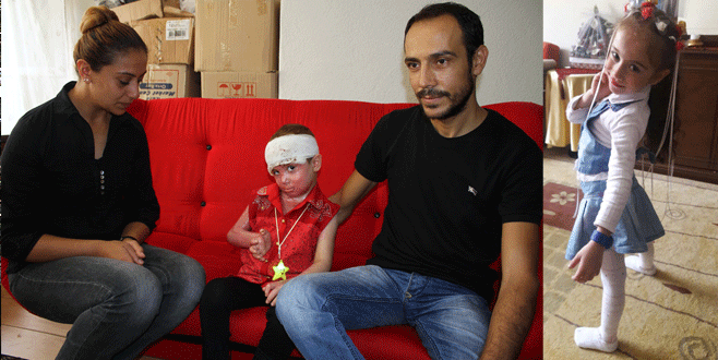Patlayan trafo minik Elanur'un hayatını kararttı