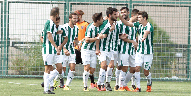 Derbinin kralı Yeşil Bursa: 1-0