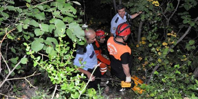 Ormandaki kadın çığlığı AFAD ekiplerini alarma geçirdi