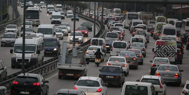 İşte Bursa'daki trafiğe kayıtlı araç sayısı