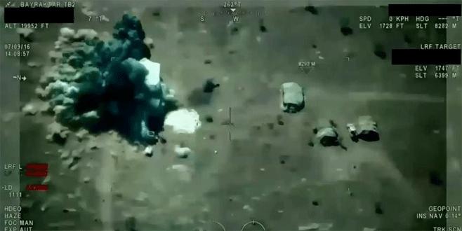 IŞİD'e ait 5 hedef imha edildi