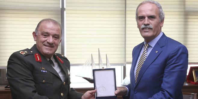 Garnizon Komutanı'ndan Büyükşehir'e ziyaret