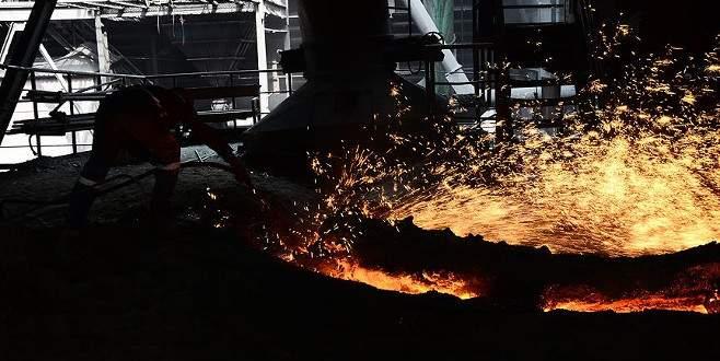Sanayi üretiminde sert düşüş