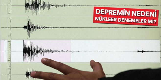 Kuzey Kore'de şiddetli deprem!
