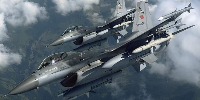 TSK'dan flaş açıklama: 4 DAEŞ hedefi imha edildi
