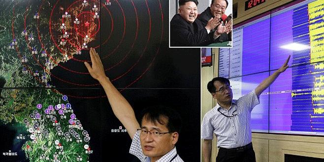 Kuzey Kore'de nükleer deprem